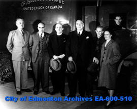 The Crusades Cavalcade of the United Church of Canada arrives in Edmonton for a five-day stay at ...