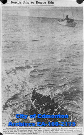 The City of Flint rescues survivors of the torpedoed steamship Athenia that was sunk by the Germans.