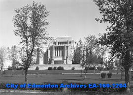 Mormon Temple - Cardston, Alta.