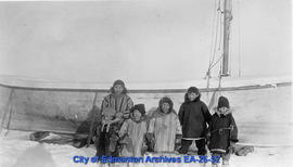 Kids at Aklavik