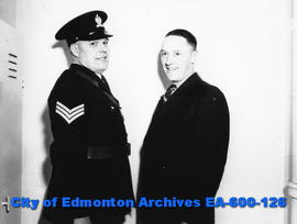 Two Edmonton City Police officers.
