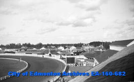 Edmonton Exhibition Grounds from Grandstand