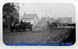 Edmonton Fire Dept. On Parade