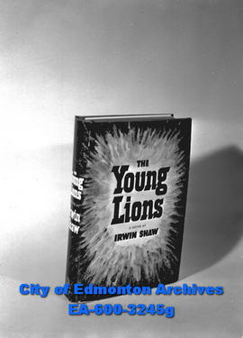 Circulation Deptartment prizes.  The Young Lions by Irwin Shaw.