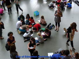 School Group at Art Gallery of Alberta - Image 4 of 5