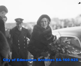 Final visit to Edmonton by the Earl of Bessborough, Governor General of Canada