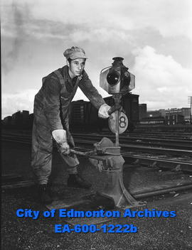 Fireman Fred Holcroft, Canadian Railway employee, gets raise without striking.