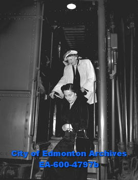 Lady Alexander accompanied her husband, the Governor General, on a stop in Edmonton.