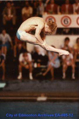 Universiade '83 - Male Diver