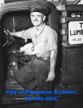 Edmonton Safety Council safety week awards: Anton Rosenberger, winner of 10 gallons of gas.