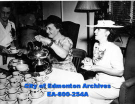University of Alberta Students' Council and Department of Education tea for students and members ...