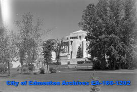 Mormon Temple - Cardston, Alta