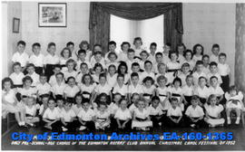 Edmonton College Inc. Kindergarten  Christmas Carols Group
