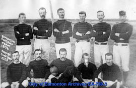 Edmonton Football Team - 1898