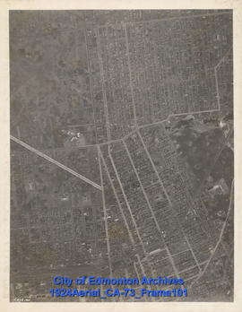 1924 Aerial Section 73, Frame 101