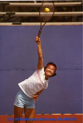 Universiade '83 - Korea's Ya-Yang Park