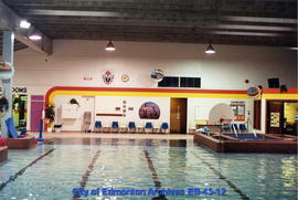 A.C.T. Recreation Centre pool interior facing south prior to renovation