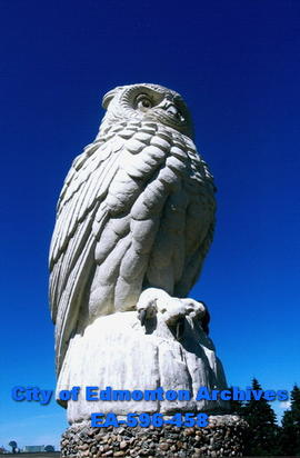 Great Sentinel Owl, by Joseph Boulton