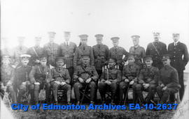 101 Regiment-Officers, Calgary
