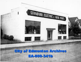 Standard Electric and Auto Parts, Edmonton.