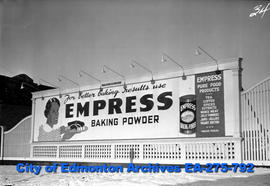 Sign - Empress Baking Powder