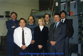 Some members of the Facility Energy Management Committee