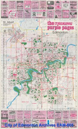The Talking Purple Pages Talking City Guide: Edmonton and Area