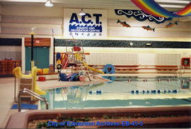 A.C.T. Recreation Centre pool interior facing north after renovation
