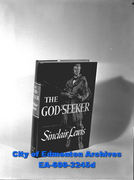 Circulation Deptartment prizes.  The God-Seeker by Sinclair Lewis.