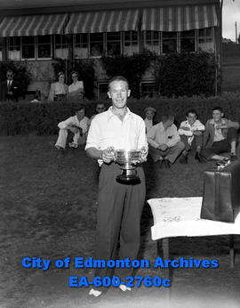 Amateur Golf Tournament. Vern Mols cops third amateur title.