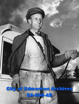 Milkman William Peet, Edmonton City Dairy