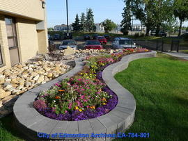 Front Garden At Kiwanis Place