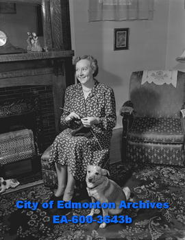 Women's Page - church groups: Mrs. Sidney Simmonds, president of McDougall United Church Women's ...