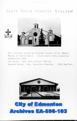 Santa Maria Goretti Catholic Church Poster