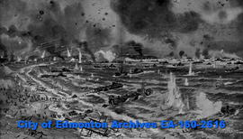 D-day Invasion (drawing).