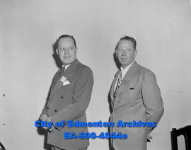 Hotel Association officers: A.G. Swinarton (left) and Robert MacDonald.