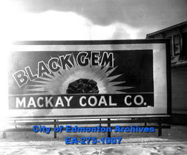 Sign - Mackay Coal Company
