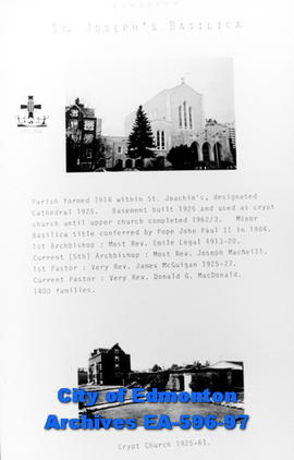 St. Joseph's Catholic Basilica and Crypt Poster