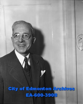 Charles Anderson, auditor of Northern Alberta Railways.