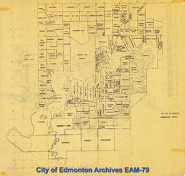 The City of Edmonton Subdivision Index