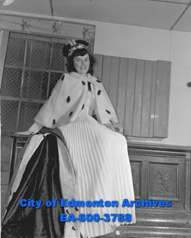 Annette Patterson, carnival queen of Cromdale Community League