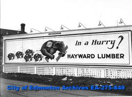 Sign - Hayward Lumber