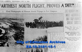 Pioneer Aerial Voyage to Fort Simpson