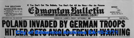 World War II Headline