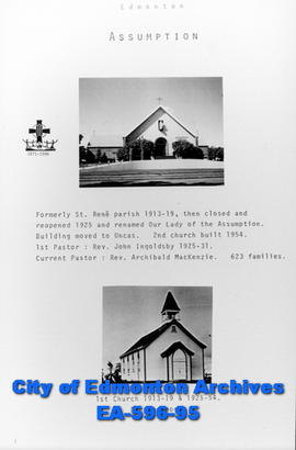 Assumption Catholic Church Poster