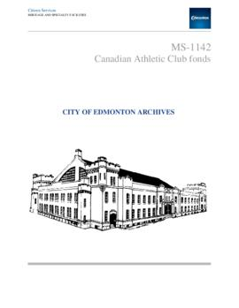 Canadian Athletic Club fonds