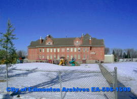 Queen Alexandra Elementary School  (rear view)