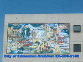 Fire Station # 1 - mural