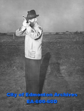 Bill Davis, member of the Edmonton Gun Club.