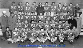 Edmonton Eskimo Football Club - 1950